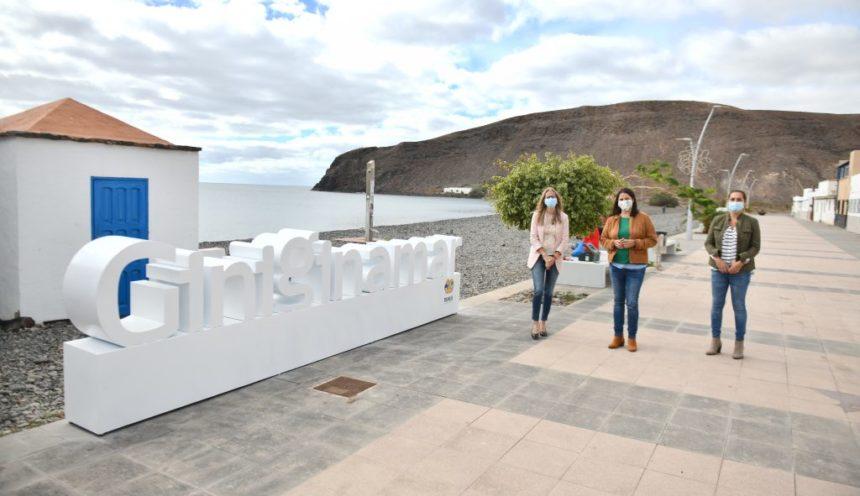 El Ayuntamiento de Tuineje inicia la instalación de las gigantografías Giniginámar