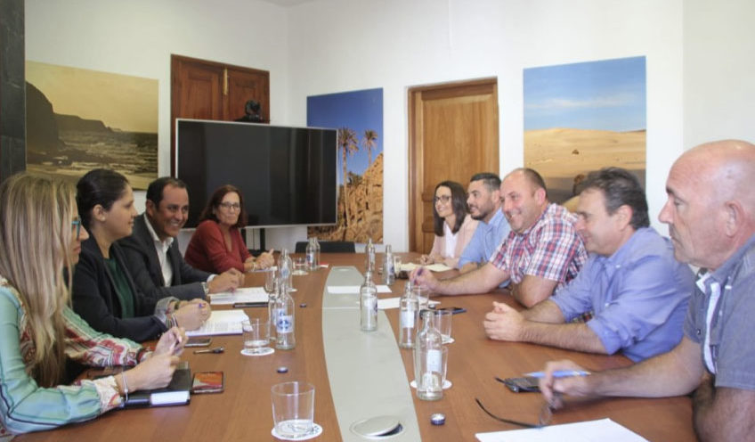 El Ayuntamiento de Tuineje coordina con el Cabildo de Fuerteventura la hoja de ruta de acciones estratégicas para el municipio